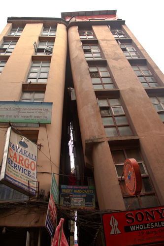 Edificio-apoyado
