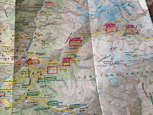 Mapa-trekking