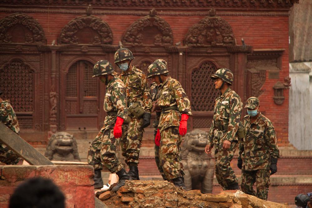 Durbar-Army